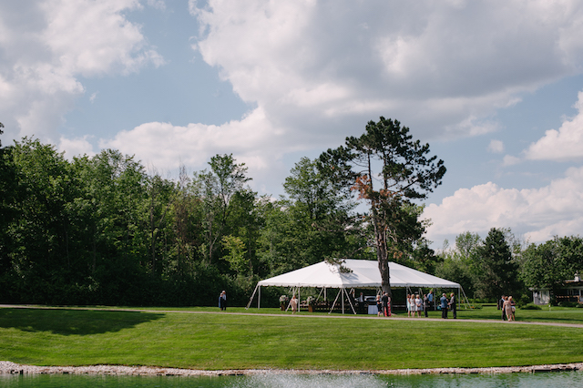Happenings Party Rentals 30x60 NaviTrac Frame Tent in Caledon