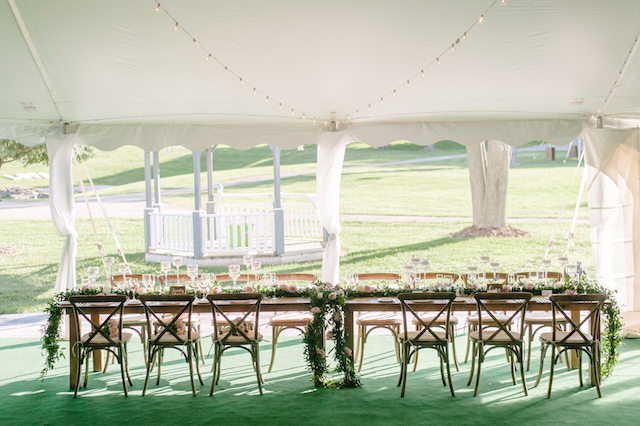 Happenings Party Rentals Head Table in Caledon