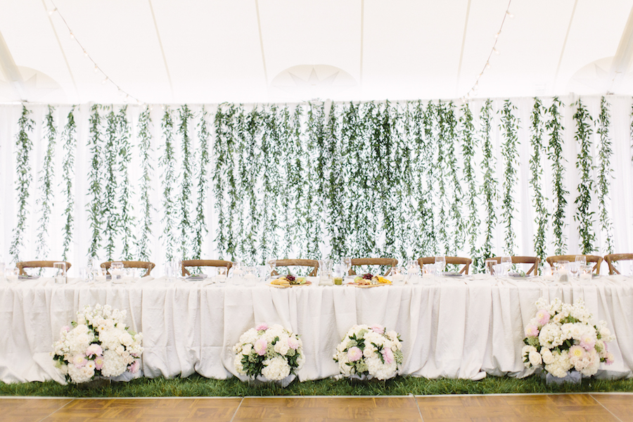 Happenings Party Rentals - Head Table