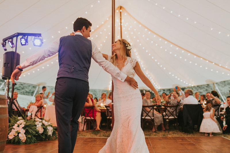 Happenings Party Rentals First Dance