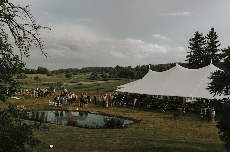 Happenings Party Rentals Stillwater at  Country Wedding