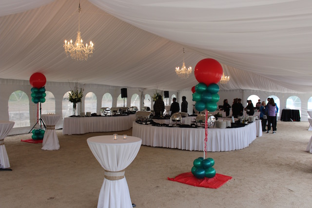 Happenings Party Rentals 40X80 Frame Tent With Liner