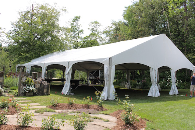 Happenings Party Rentals 40X60 Clearspan in Honeywood