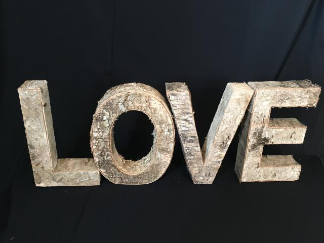 Where to find LOVE- Birch Letters 12 in Collingwood