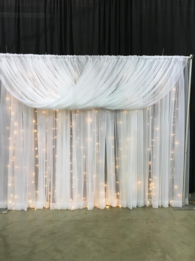 Where to find 30 Backdrop Drapery PKG in Collingwood