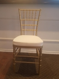 Rental store for Gold Chiavari Chair in Collingwood ON