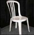 Rental store for White Bistro Chair in Collingwood ON