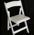 Rental store for White Resin Folding Chair in Collingwood ON