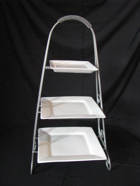 Where to find 3 Tier Square Plate Stand in Collingwood