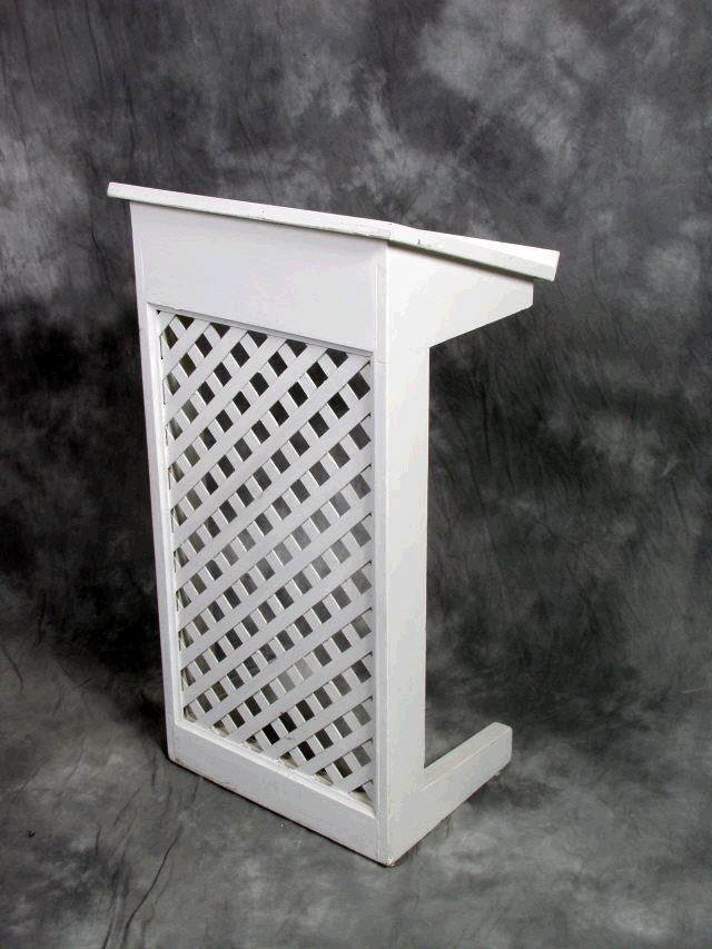 Where to rent White Lattice Podium 42  x 23 in Barrie Ontario, Toronto, Nottawasaga Bay, Georgian Triangle