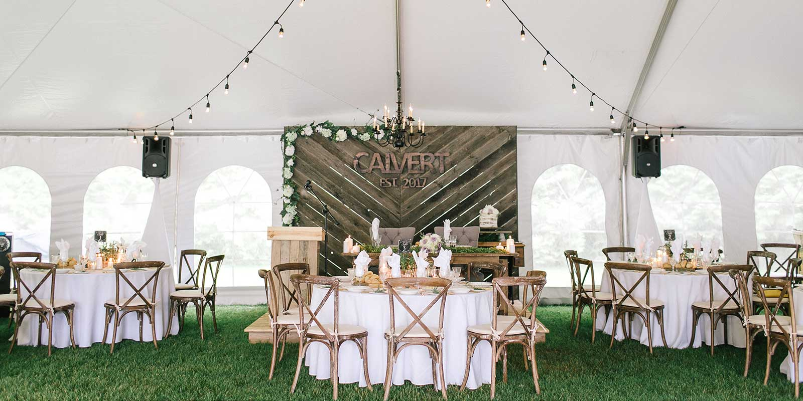 Wedding rentals are so much more than tables and chairs
